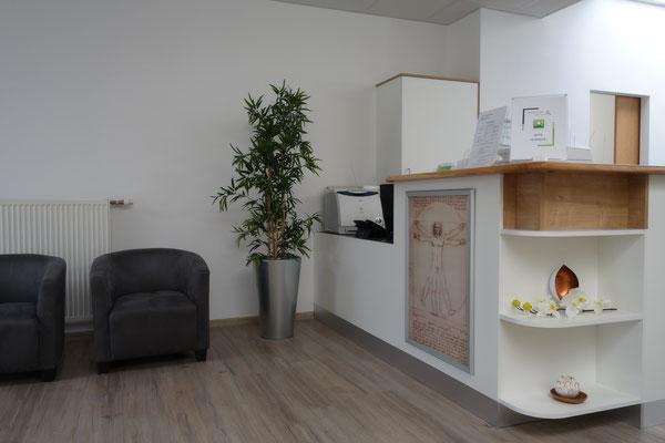 Wartebereich - Physiotherapie Kirchdorf