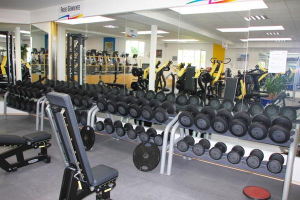 Fitness - freie Gewichte