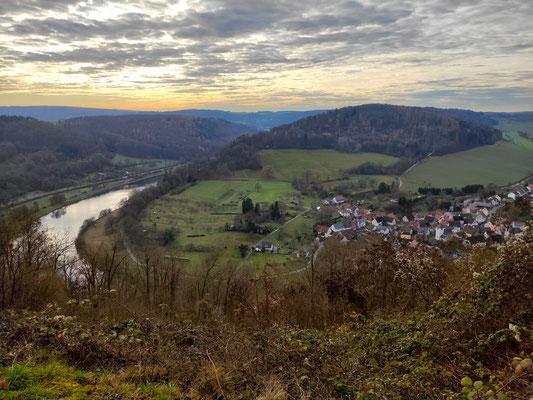 Aussichtspunkt Margarethenschlucht-Pfad