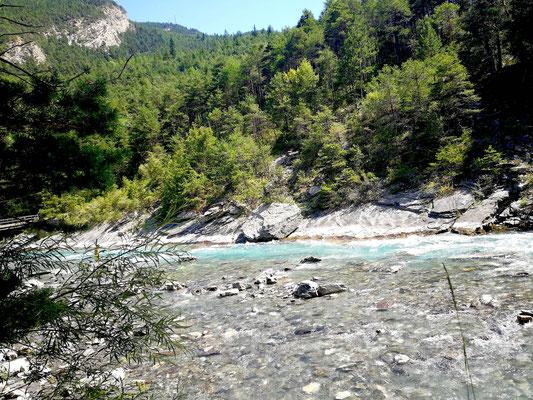 Fluss Ubaye