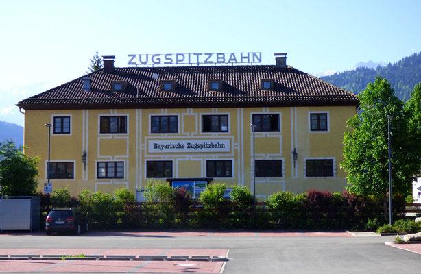 Zugspitzbahn in Garmisch-Partenkirchen
