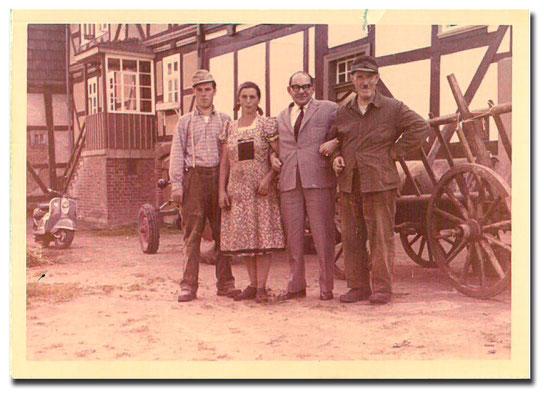 1966 - Papa Alfred, Oma Ottilie und Opa Jakob