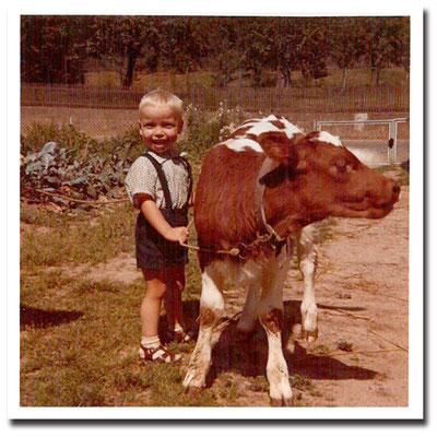 1971 - Helmut Schäfer als kleiner Junge