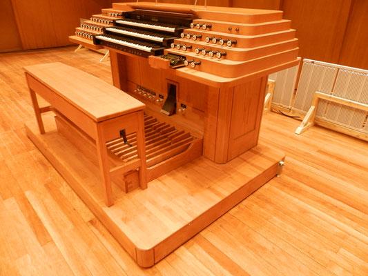 Orgelbank Höhenverstellbar
