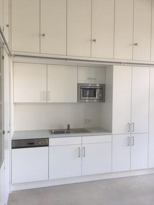 Küchenzeile Geschierspüler / Kühlschrank / Microwelle