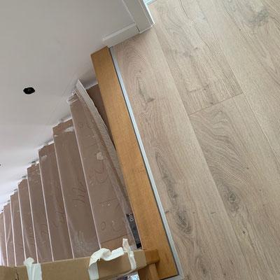 Übergang U-Profil Treppe
