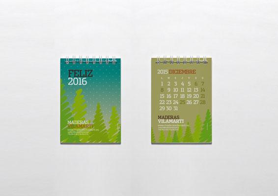 Muestra Calendario Pequeño