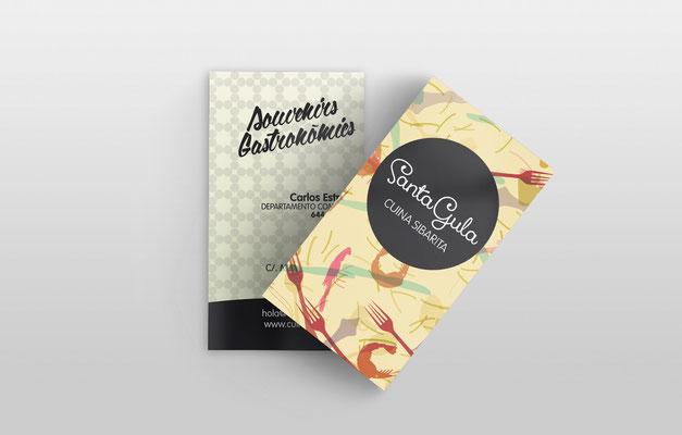 tarjetas, gandia, santagula, cuina sibarita, souvenir, delicatesen