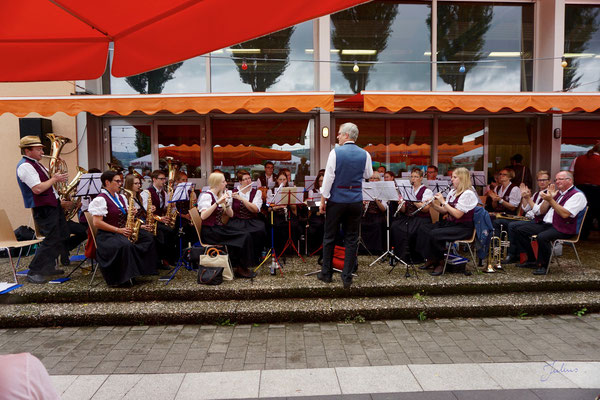 Bezirksmusikfest in Wangen am 31.07.2016