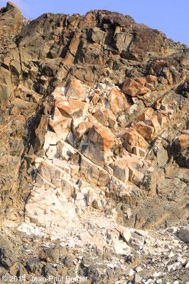 Affleurement de Tonalite - Monts Hajar - Région de Sahaynah - Fashrah