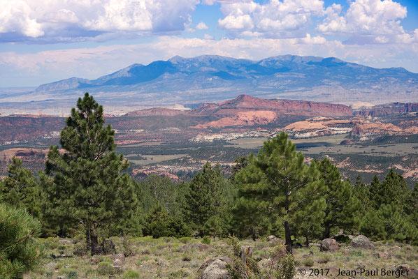 Capitol Reef Park depuis Boulder Mountain