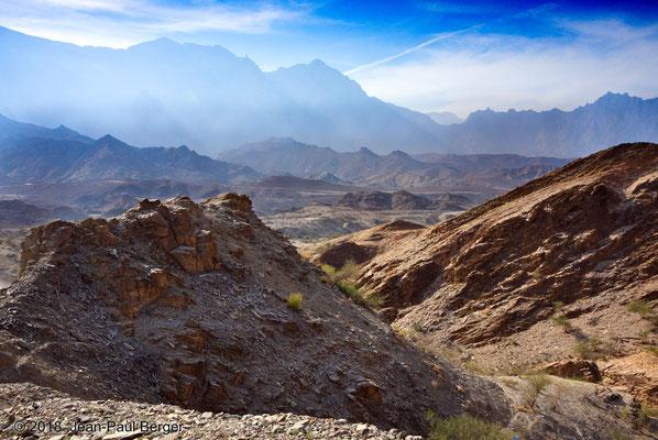 Vue sur le Wadi Sathan