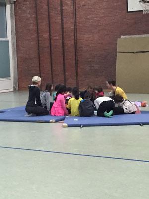 Lokstedt in Motion - Einstimmen der Kinder