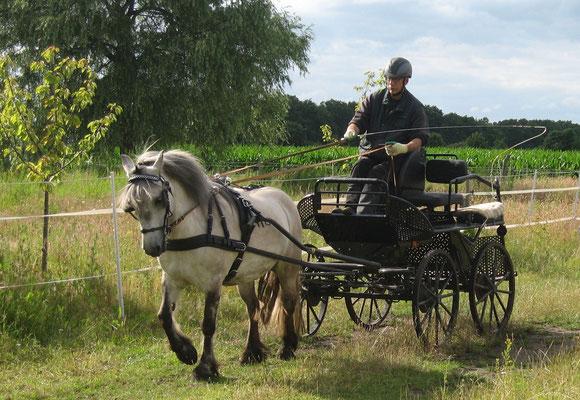 Skymuir Eilean (Bes. Harald Wolf) mit ihrem Ausbilder Martin Zechser