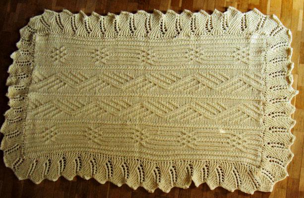 noch so ein Schal, diesmal aus super chucky, 1,80m x 1,10m