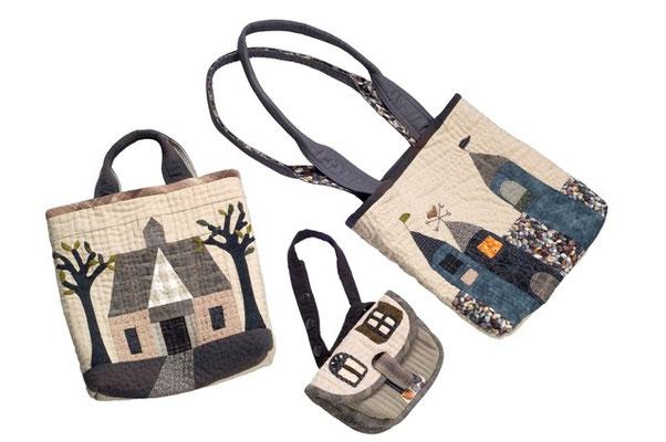 3 Taschen nach Yoko Saito