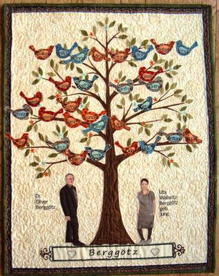 Stammbaum II, 60 x 80