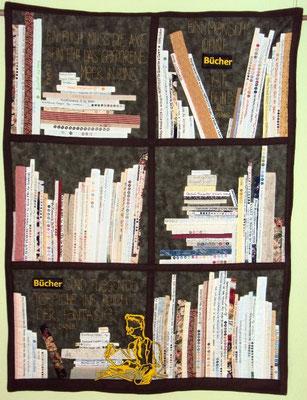Bücherregal, 100 x 80