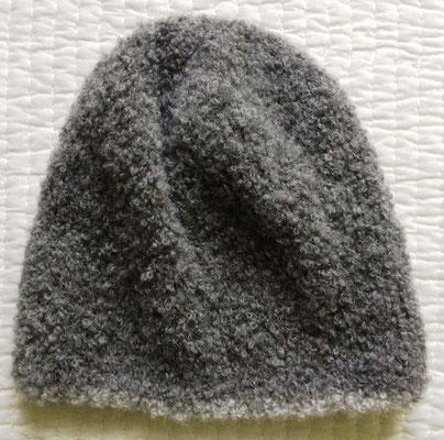 Mütze aus Alpaca Boucle