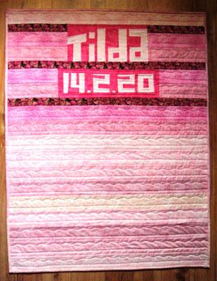 Babyquilt, 70 x 90 cm