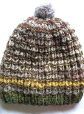 Ein Schal fürs Leben - passende Mütze