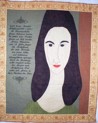 Jeanne Hebuterne, 90 x 70