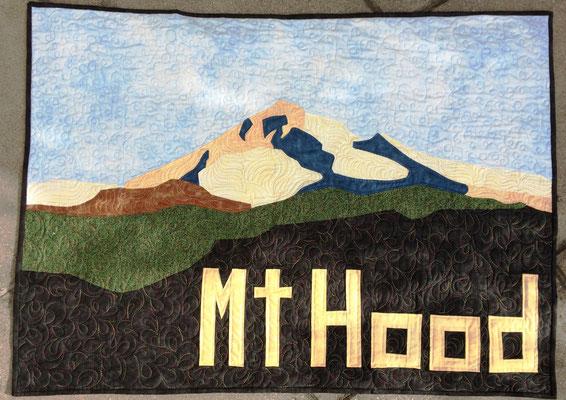 Mt. Hood, Applikation, 70 cm x 100 cm