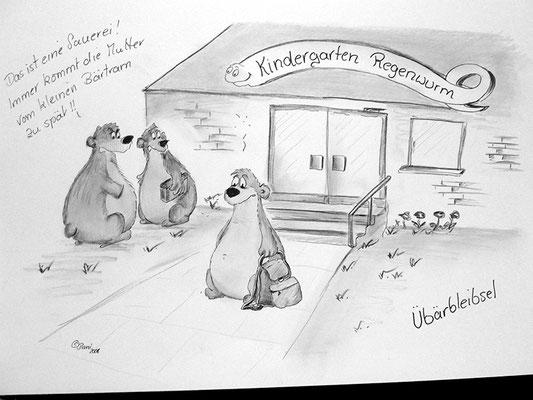 Bären Zeichnung_24