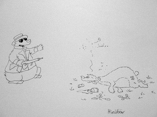 Bären Zeichnung_61