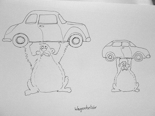 Bären Zeichnung_60