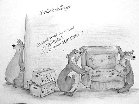 Bären Zeichnung_14