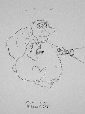 Bären Zeichnung_47
