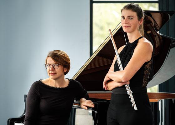 Tatiana Bergh und Bernadette Schachschal
