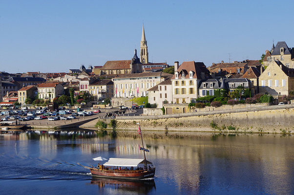 Bergerac - Gabarre sur la Dordogne © Pays de Bergerac, Joffrey Revoy