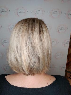 Tolle neue Haarfarbe