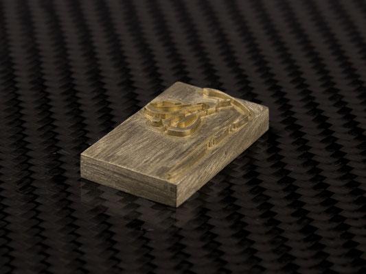 Brennplatte für Brenneisen
