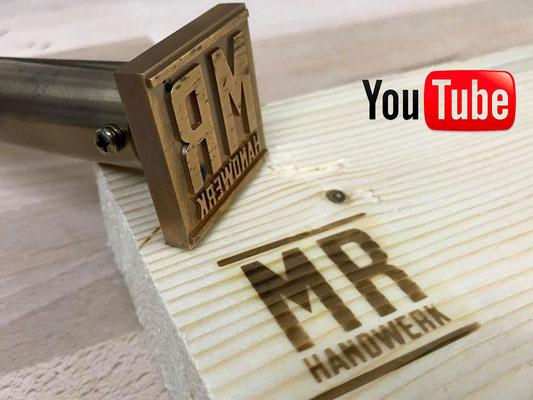 Brandstempel und Branding von MR Handwerk bekannt von YouTube