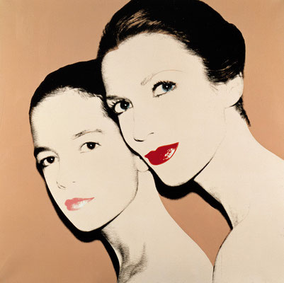 Tina e Lisa Bilotti, Andy Warhol