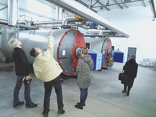 Автономная газовая котельная тепличного комплекса