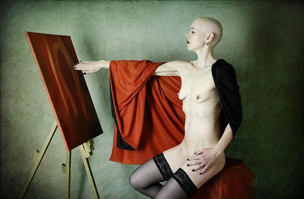 Portrait einer Künstlerin