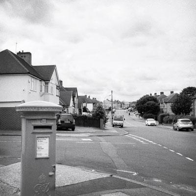 So sieht's aus in Dartford entlang der Straße wo Keith Richards und Mick Jagger aufwuchsen