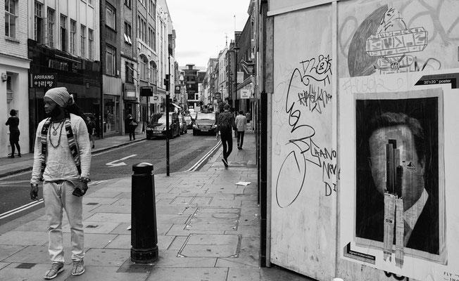 Ehemaliger Marquee Club, Ecke Oxford Street