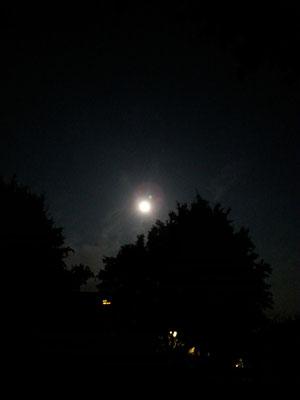 gößter Mond 2014 mit Uranus-Schnappschuss