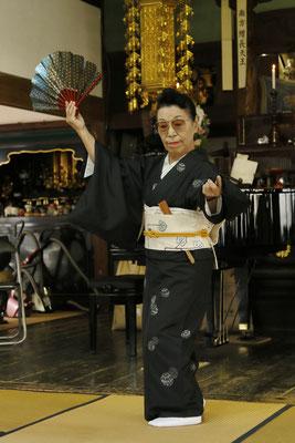 日本舞踊 福島翔優先生