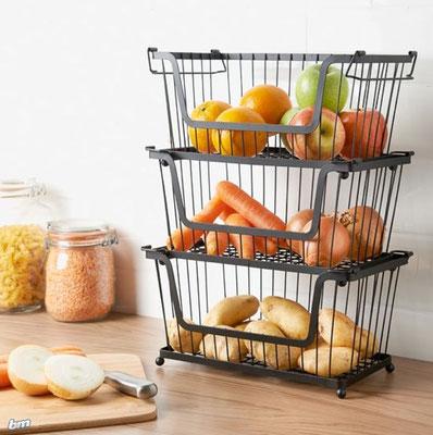 Küchenorganisation, Küche organisieren, Küchenaufbwahrung: Quelle: Pinterest
