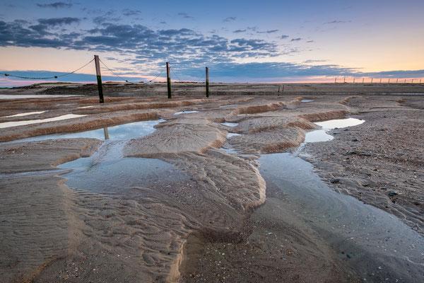 Zonsondergang natuurgebied het Zwin, Cadzand - Zeeuws Vlaanderen © Jurjen Veerman