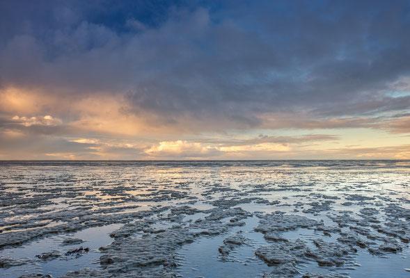 Winterlucht boven het Wad - Moddergat © Jurjen Veerman