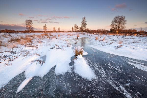 Winterlandschap Balloërveld © Jurjen Veerman