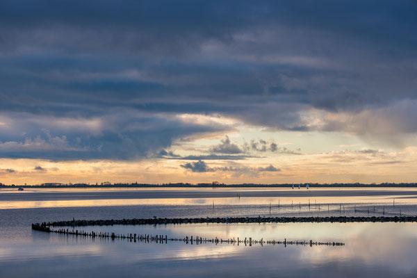 Winterluchten boven het Lauwersmeer © Jurjen Veerman