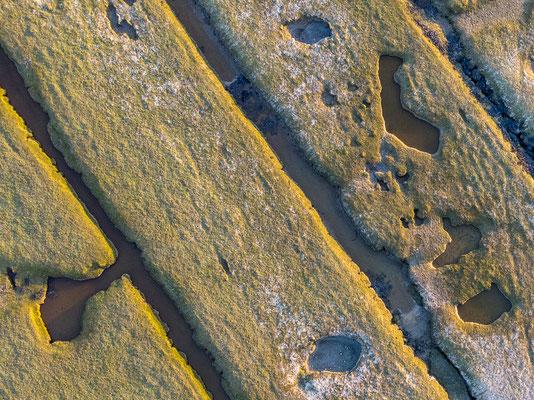 Birdsview kwelders punt van Reide © Jurjen Veerman
